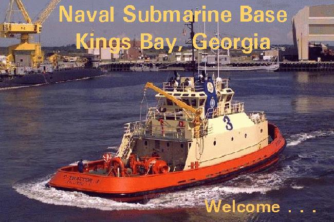Welcome to Naval Submarine Base Kings Bay, Georgia
